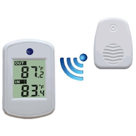 Wireless Thermometer - Perfect for Mounting & Placing Near Front Door,