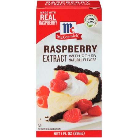 McCormick Raspberry Extract With Other Natural Flavors, 1 FL OZ Other Natural Flavors