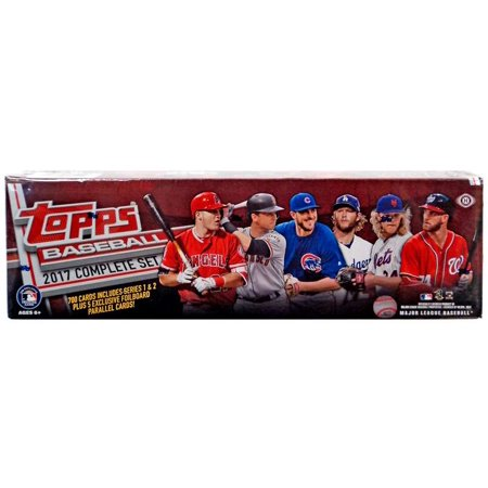 Mlb 2017 Topps Baseball Cards Complete Set Hobby Edition