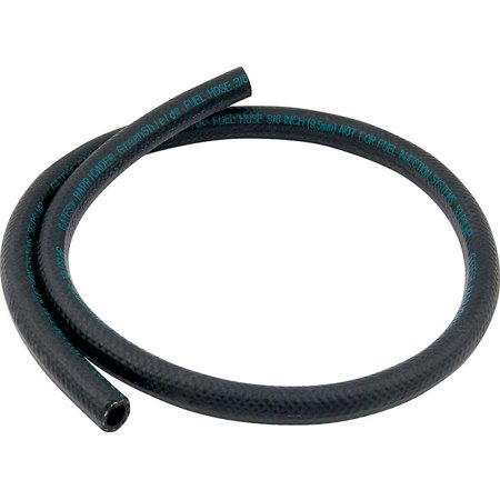 Allstar Performance 3 ft Black Rubber 3/8 in ID Fuel Hose P/N 40356 ()