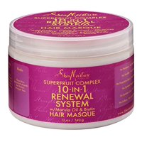 Superfruit Complex 10-In-1 Renewal System Hair Masque | 12 oz., NOURISHES: The Wonders Of Certified Organic Raw Shea Butter Ensure That Hair Is.., By SheaMoisture