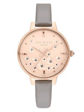 WATCH  TED BAKER STAINLESS STEEL PINK GRAY WOMEN  TE50013015