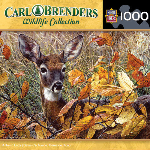MasterPieces Carl Brenders Autumn Lady 1000 Piece Jigsaw Puzzle