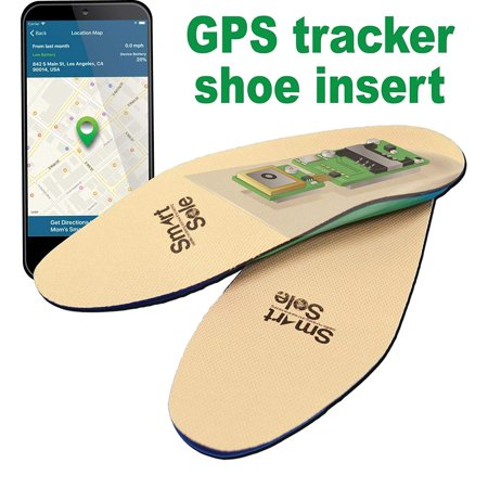 GPS SmartSole - Wearable Insoles with GPS Tracking System - Small ()