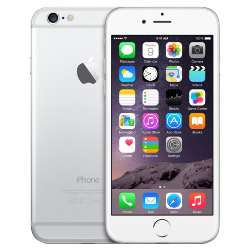 Apple iPhone 6 128Gb - Verizon and GSM Unlocked - Silver ...