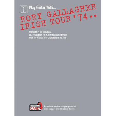 Rory Gallagher : Irish Tour '74 Book/Online Audio (Rory Gallagher Meeting With The G Man)