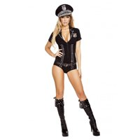 3pc Lusty Law Enforcer Costume