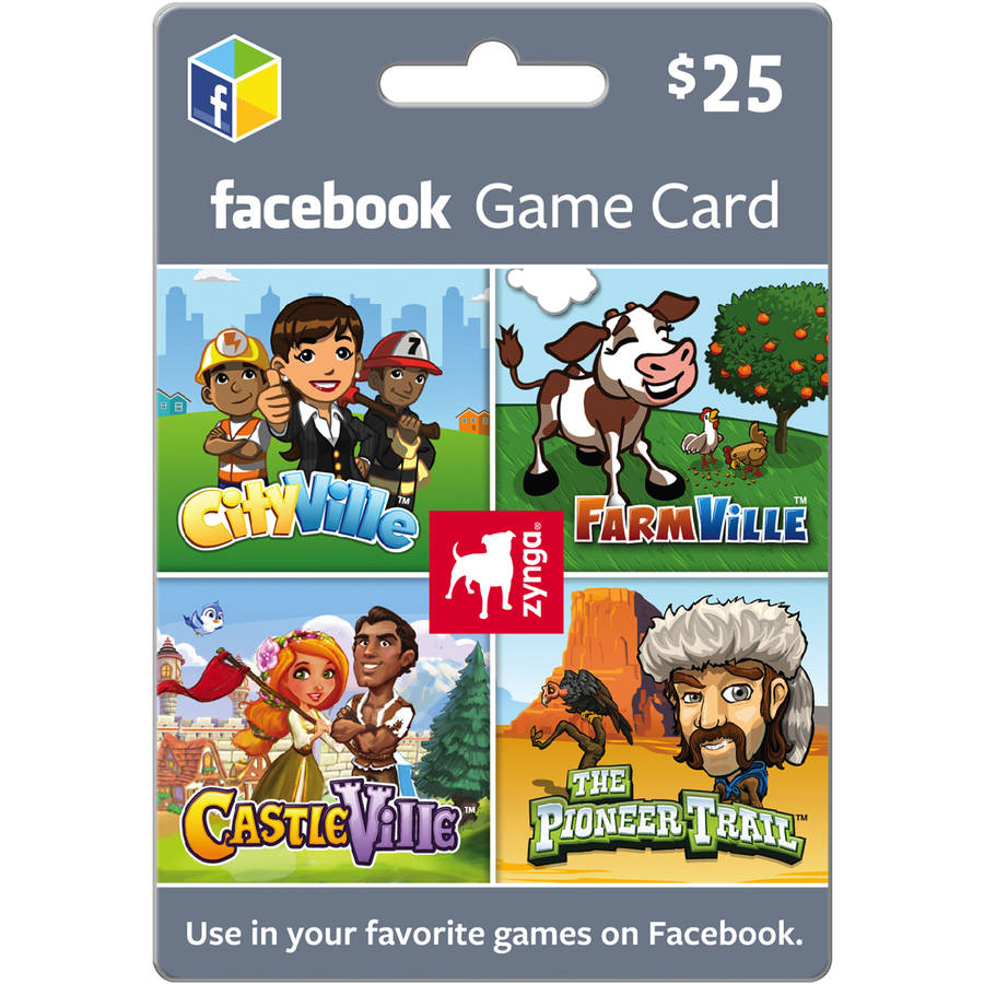 Zynga Facebook $25 eGift Card (Email Delivery)