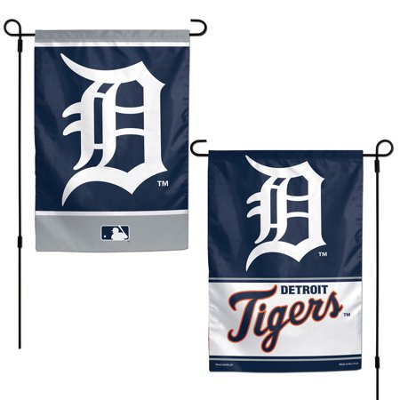 "Detroit Tigers WinCraft 12"" x 18"" Double-Sided Garden Flag - No Size"