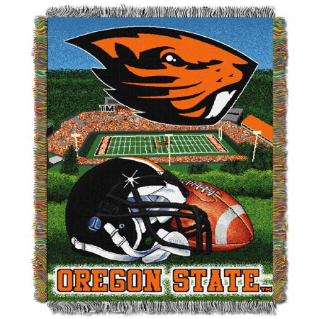 Oregon State Woven Tapestry Throw Blanket