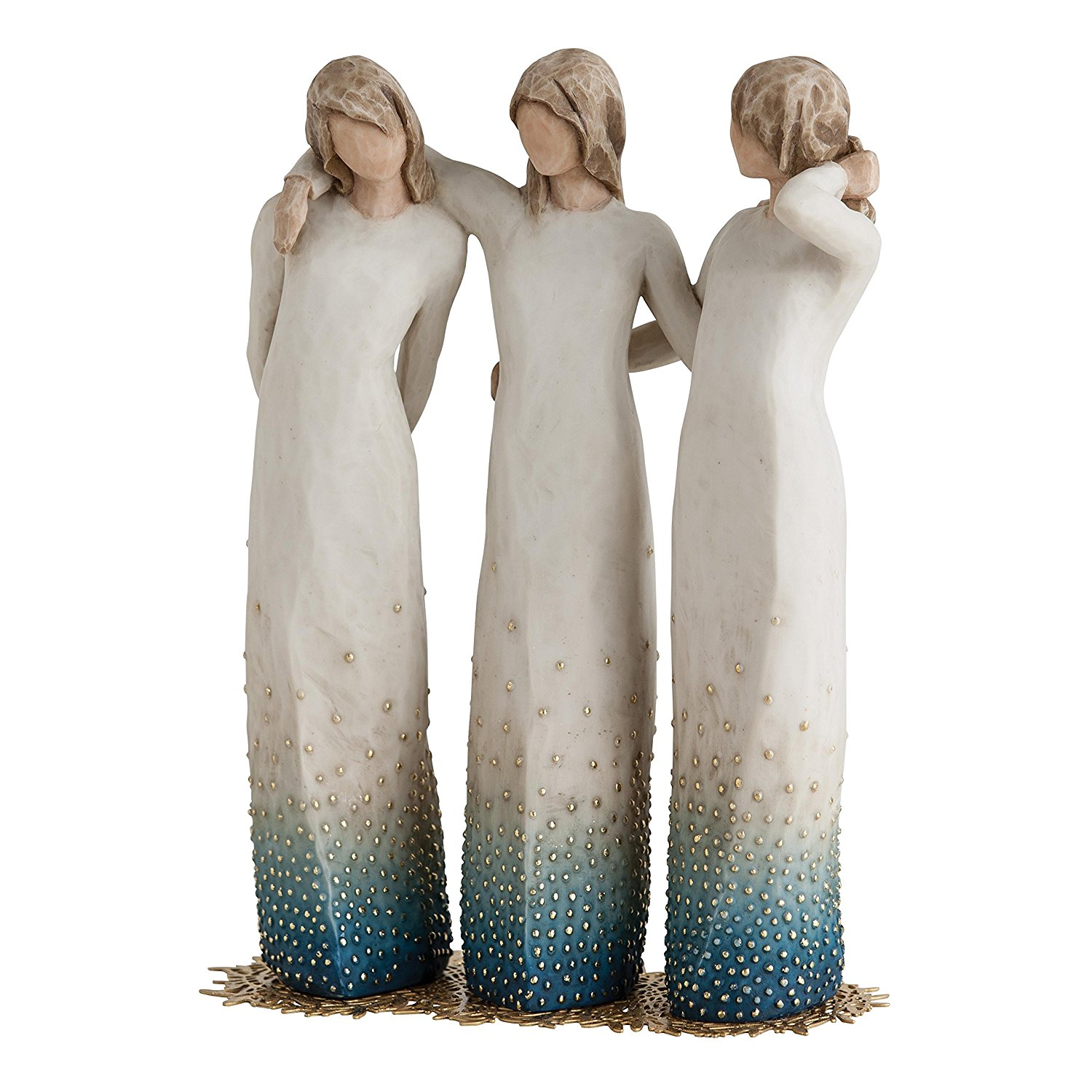 Willow Tree By My Side - Susan Lordi Figurine - 3 Sisters
