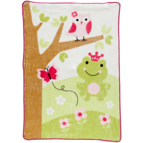 Lambs & Ivy Bedtime Originals Magic Kingdom Warm & Cozy Blanket