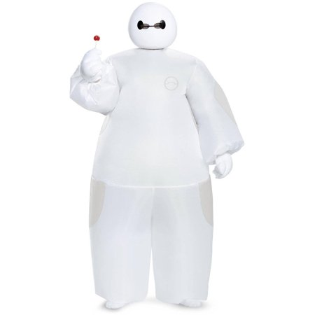 Big Hero 6 White Baymax Inflatable Child Halloween Costume, 1 - Costume Hero