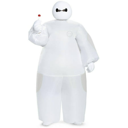 Big Hero 6 White Baymax Inflatable Child Halloween Costume, 1 Size