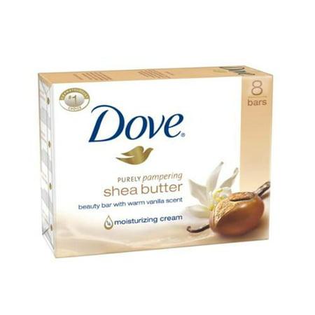 Dove Nourishing Care Bar Soap Shea Butter Two 4 Ounce