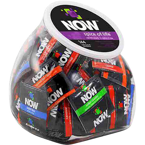 Now Spice of Life Variety Pack Condoms, 144 count