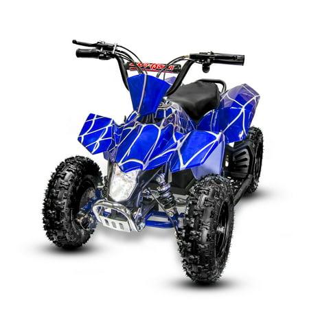 Electric Mini ATV Sahara on 350W 24V (Blue Spider)