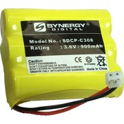 General Electric 27959GE6 Cordless Phone Battery Ni-CD, 3.6 Volt, 900 mAh - Ultra Hi-Capacity - Replacement for AT&T, Panasonic, VTech 80-5071-00-00, RadioShack 23-298 Rechargeable Batteries