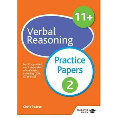 11+ Verbal Reasoning Practice Papers 2 - eBook
