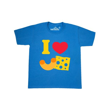 I Heart Mac And Cheese Youth T-Shirt ()