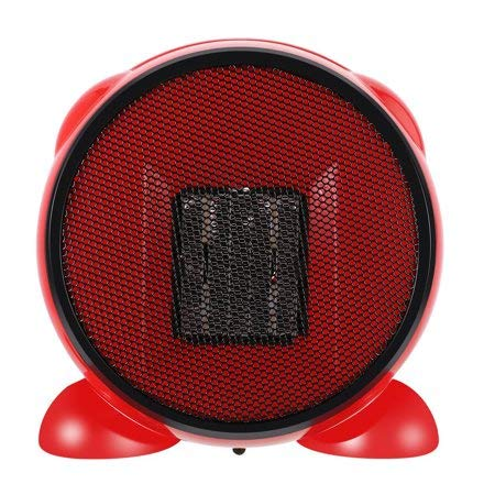 Portable Fan Heater/space heater/Desktop Heater Cool Air Function & Adjustable Thermostat, 1500W