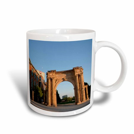 3dRose USA, Ohio, Columbus, Union Station Arch - US36 TWE0016 - E. O. Reed, Ceramic Mug, - Party Supplies Columbus Ohio