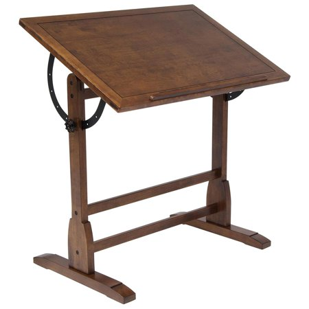 Studio Designs Vintage Drafting Table - Solid Hardwood - 36 x 24 x 34.25 inches