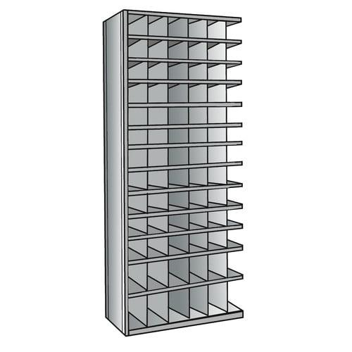 Hallowell Hi-Tech Bin 87'' H 13 Shelf Shelving Unit Add-on