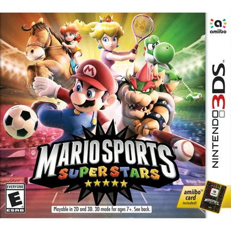 Mario Sports Superstars, Nintendo, Nintendo 3DS, (Mario Ortiz All Star Band 50 Aniversario)