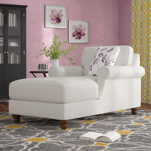Alcott Hill Kirkley Wellston Chaise Lounge