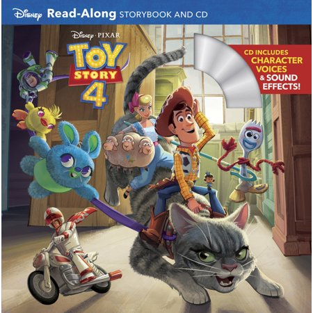 Toy Story 4 Read-Along Storybook and