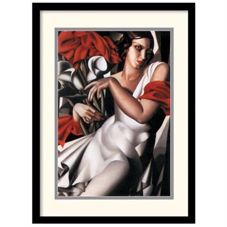 Portrait of Ira Framed Wall Art - 17.04W x 21.04H in.