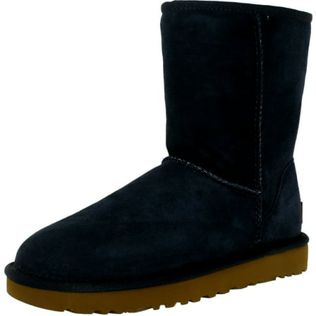 UGG Women's Classic Short II Boot - Light Blue Uggs With Bows