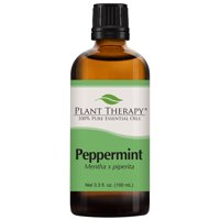 Plant Therapy Peppermint Essential Oil | 100% Pure, Undiluted, Natural Aromatherapy, Therapeutic Grade | 100 mL (3.3 oz)