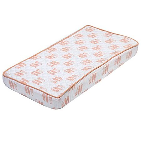 Harriet Bee Asya Feathers Muslin Quilted Changing Pad (Quilted Muslin)