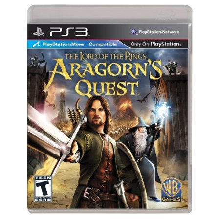 Lord Of Rings: Aragorns Quest, WHV Games, PlayStation 3, 883929136346