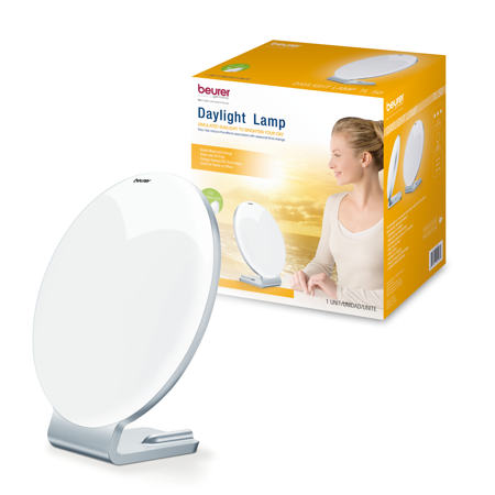 Beurer Daylight Lamp, Portable Light Therapy for Your Office, Home or Travel, with Exceptionally Bright Natural Sunlight Simulation, UV-Free, 10,000 LUX from 6 IN, TL50 ()
