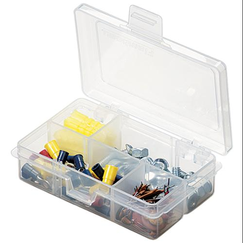 "ArtBin Solutions Box 4-6 Compartments-4.625""X3.375""X1.25"" Translucent"