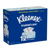 Facial Tissues, Kleenex Trusted Care Everyday Facial Tissues, 144 ct./12 pk.