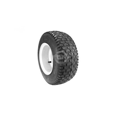 Tire Rim Bolt Pattern (Rear Wheel Assembly replaces Snapper 52270.  16X650X8, 2 Ply Tubeless Turf Tread Tire, One piece rim.  Fits Rear Engine Rider.  3 Hole Bolt Pattern.)