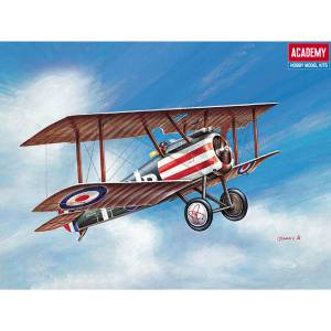 Wwi Sopwith Camel (Academy ACY12447 1-72 Scale Sopwith Camel WWI RAF Fighter Model)