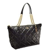 coach ava chain tote in quilted leather (f36661) $495 by