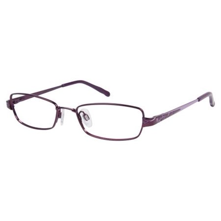 JESSICA MCCLINTOCK Eyeglasses 428 Aubergine 48MM - Walmart.com