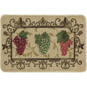 mainstays nature trends grape bunches printed kitchen mat. Interior Design Ideas. Home Design Ideas