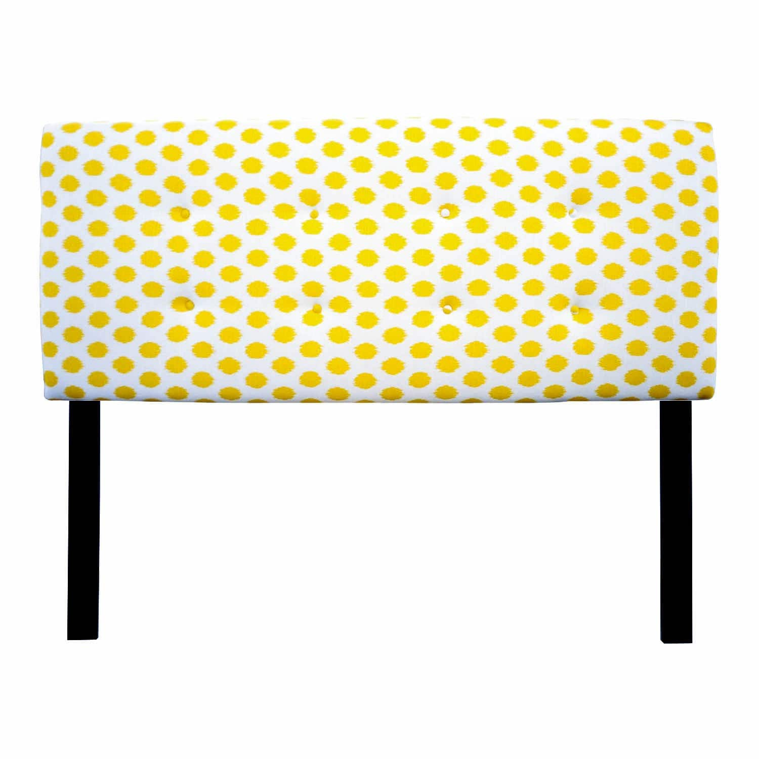 Sole Designs Ali Collection Cotton Upholstered Panel Headboard