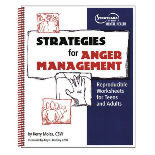 Strategies for Anger Management Book : Reproducible Worksheets for Teens and Adults