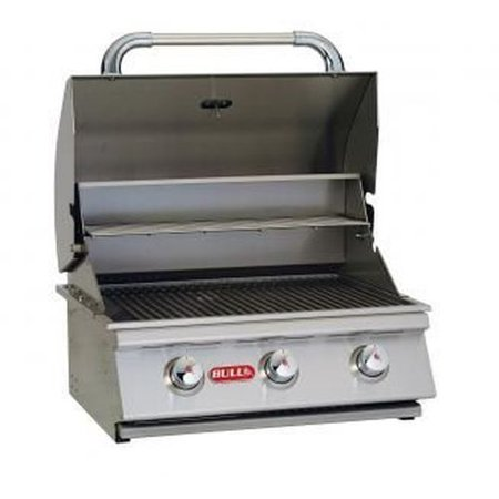 24 Stainless Steel Built In Natural Gas Barbecue Grill By Bull Bbq