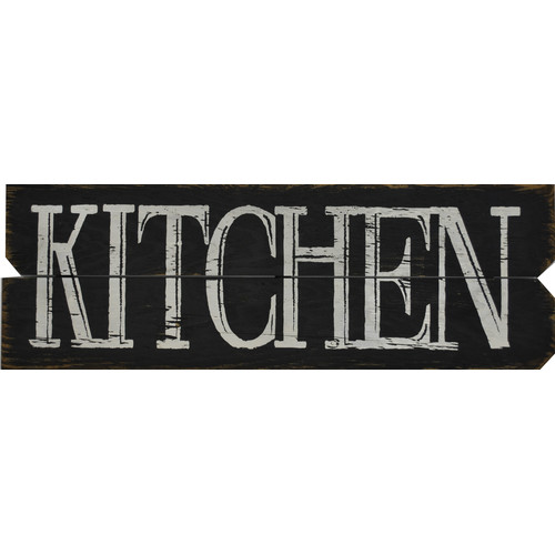 Boulder Innovations 'Kitchen' Textual Art on Plaque