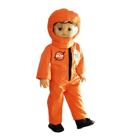 My Brittany's Orange Nasa Astronaut Outfit for American Girl Dolls and My Life as Dolls- 18 Inch Doll Clothes-Doll Clothes for American Girl Dolls](Astronaut Outfits)