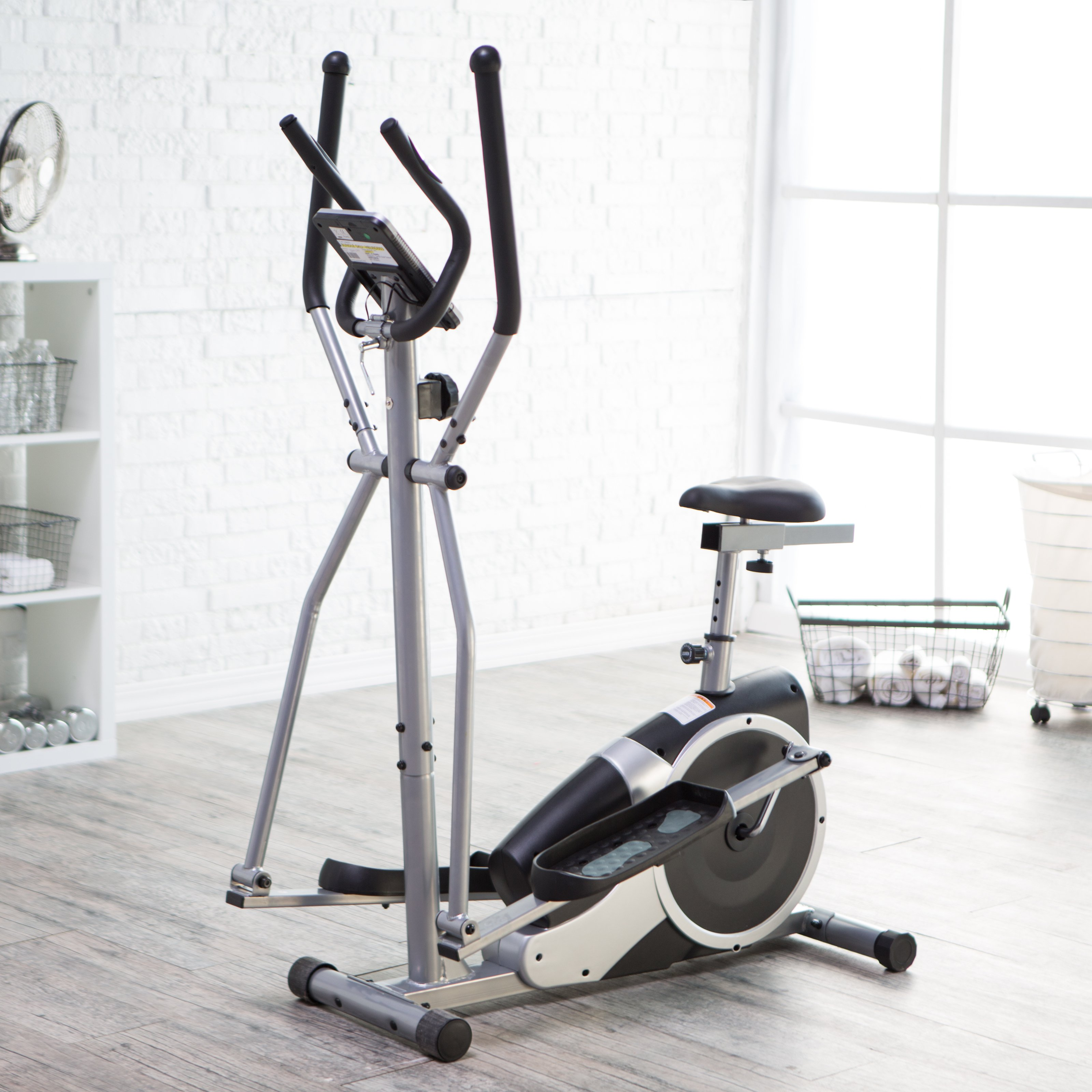Body Champ BRM2720 Magnetic Elliptical Dual Trainer with Seat